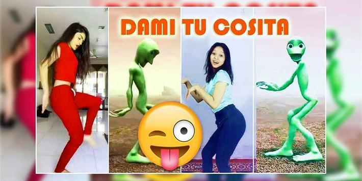 Dance Dame tu cosita - Green alien Video Download screenshot 2