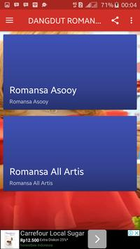 DANGDUT ROMANSA HOT TERBARU apk screenshot