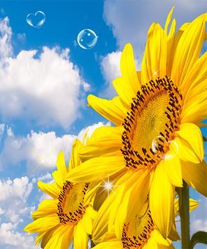 Sunflower Live Wallpaper screenshot 3