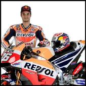 Dani Pedrosa HD Wallpaper icon