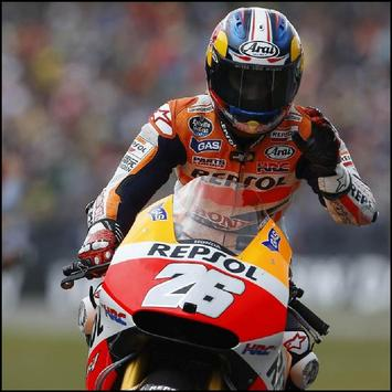 Dani Pedrosa HD Wallpaper screenshot 2