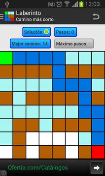 Laberinto Backtracking apk screenshot