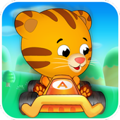 Daniel racing tiger icon