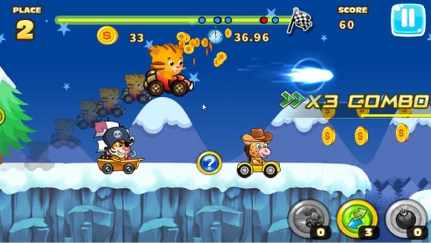 Daniel racing tiger screenshot 5
