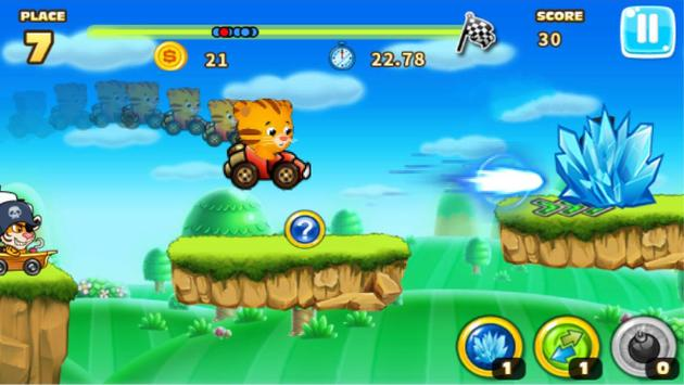 Daniel racing tiger screenshot 6