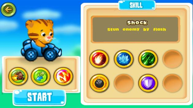 Daniel racing tiger screenshot 2