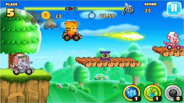 Daniel racing tiger screenshot 3
