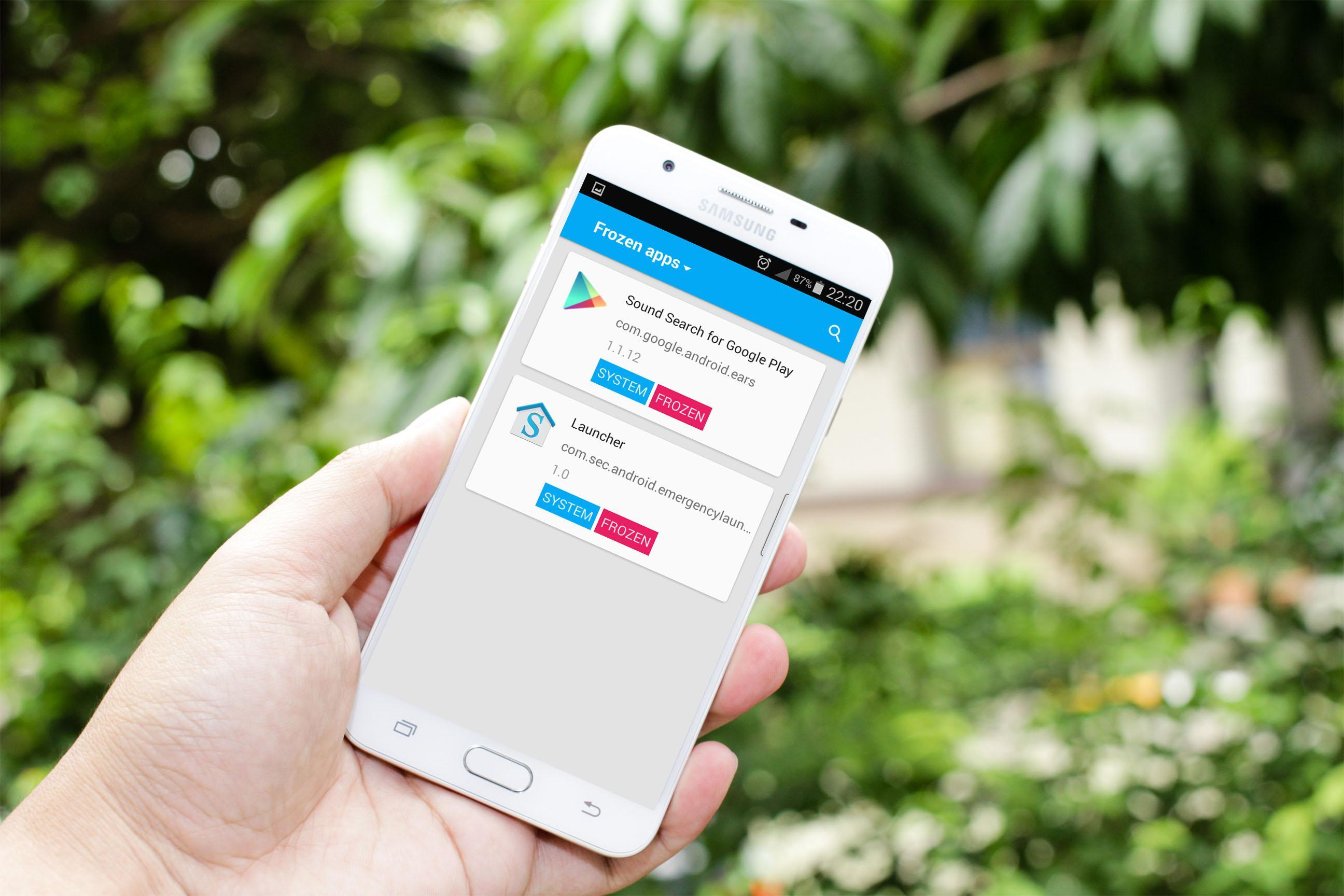 enable disable app for Android - APK Download
