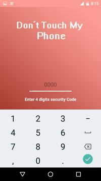 Dont touch my phone - Security Alarm screenshot 2