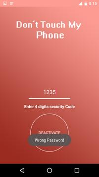 Dont touch my phone - Security Alarm screenshot 5