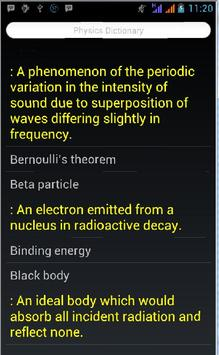Physics Dictionary Ultimate screenshot 4