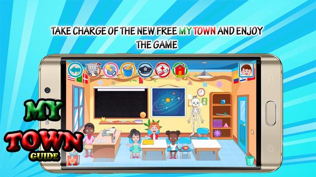 Free: My Town School Guide poster