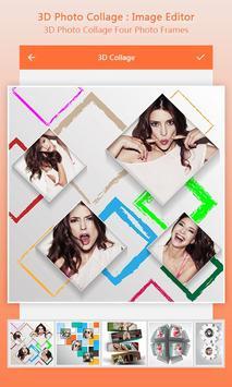 3D Photo Collage&Image Editor screenshot 3