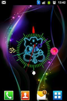 Ganesha clock new screenshot 2
