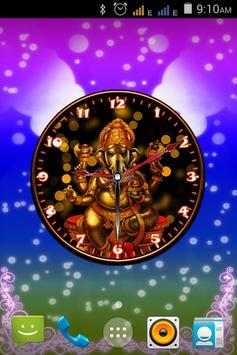 Ganesha clock new screenshot 9