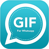 Funny GIF for Whatsapp icon