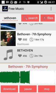 Free Music screenshot 1