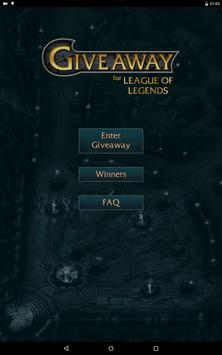 Giveaway for League of Legends screenshot 4