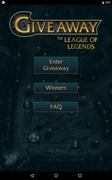 Giveaway for League of Legends screenshot 7