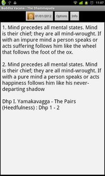 Dhammapada poster
