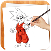 Learn to Draw DBZ 2017 Sayian icon
