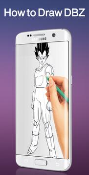 Learn to Draw DBZ 2017 Sayian poster