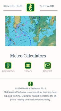 Meteo Calculator Cartaz