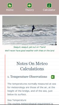 Meteo Calculator imagem de tela 6