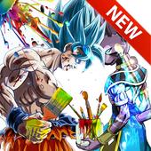 coloring DBS : Super icon