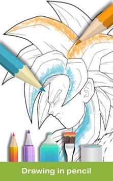 coloring DBS : Super screenshot 1