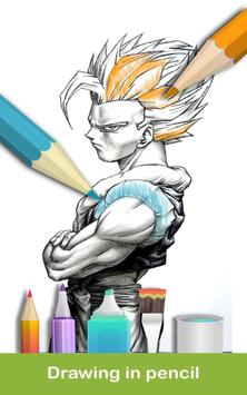 Coloriage DBS : coloring pages screenshot 1