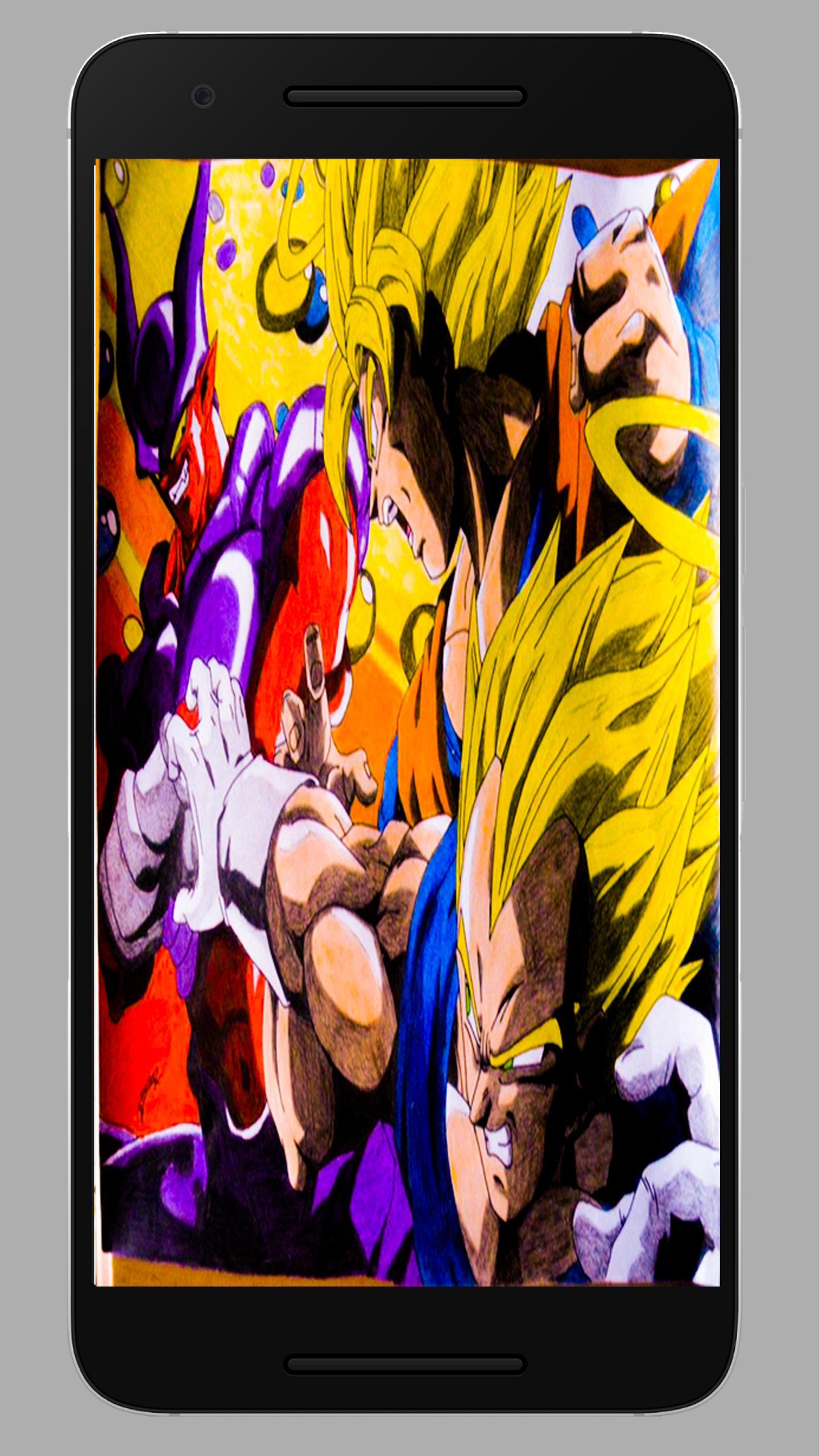 Dragon DBS Anime WallPaper poster