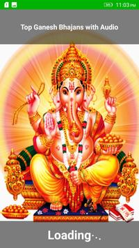 Top Ganesh Bhajans with Audio poster