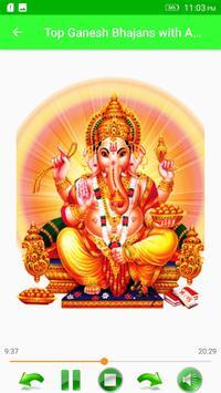 Top Ganesh Bhajans with Audio screenshot 1