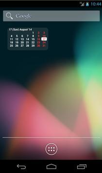 Calendar Widget poster