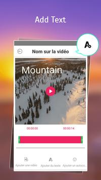 Text on Video in French Font, Keyboard & Language: screenshot 2