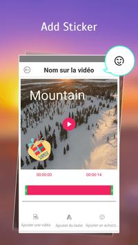 Text on Video in French Font, Keyboard & Language: screenshot 3