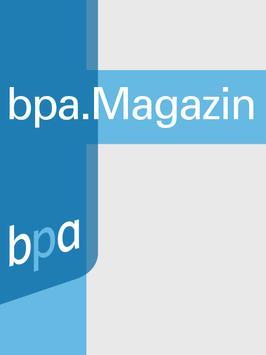 bpa. Magazin poster