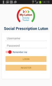 Social Prescription Luton poster