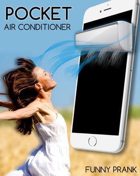 Pocket Air Conditioner Prank poster