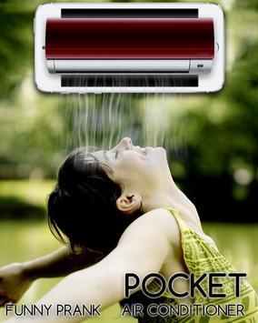 Pocket Air Conditioner Prank apk screenshot