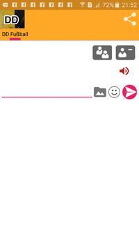 DD Fussball Chat apk screenshot