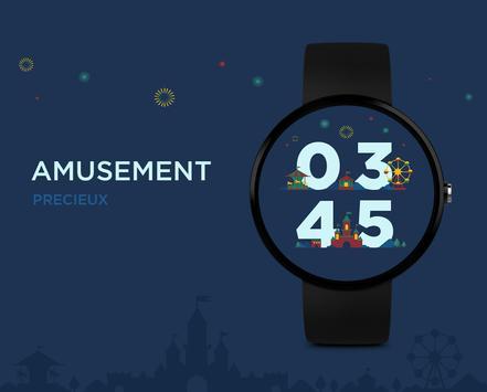 Amusement watchface by Precieux apk screenshot