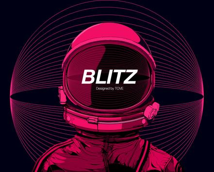Blitz watchface by Tove screenshot 1