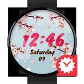 CherryBlossom Watchface by Kallos icon