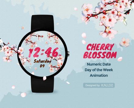 CherryBlossom Watchface by Kallos poster