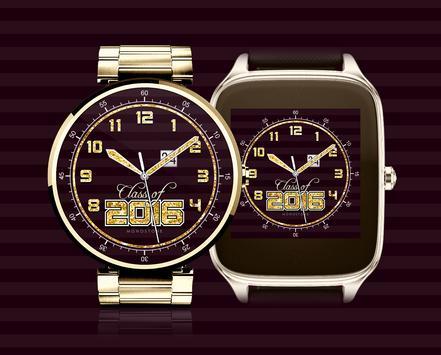 Class of 2016 watchface by Monostone apk screenshot