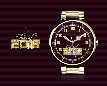 Class of 2016 watchface by Monostone poster