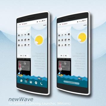 newWave for Kustom apk screenshot