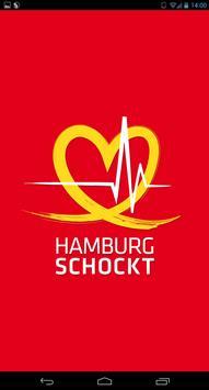 HAMBURG SCHOCKT poster